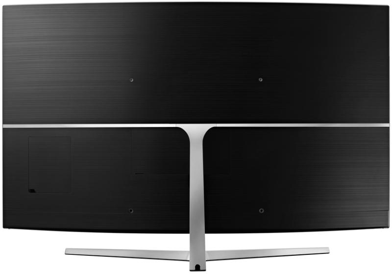 Thiết kế sang trọng với chân đế cứng cáp của tivi Samsung UA65MU9000