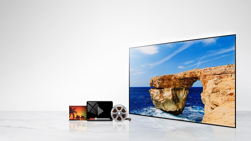 Kết nối với các thiết bị ngoại vi của tivi LG 49LJ553