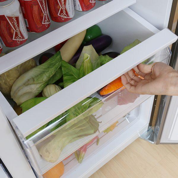 Không gian bảo quản thực phẩm đa dạng