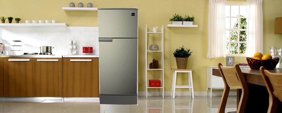 Thiết kế phù hợp mọi không gian với Tủ lạnh Sharp SJ-198P-SSA 180 lít