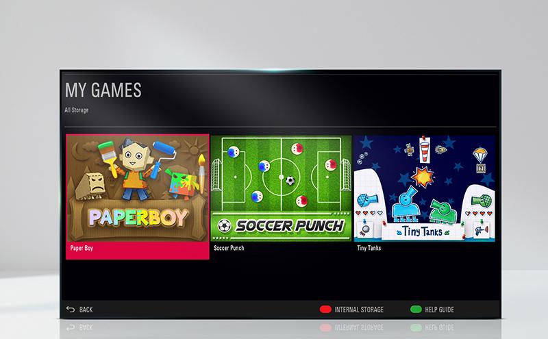 Kho game hấp dẫn đang chờ bạn khám phá trên tivi LG 43 inch 43LJ510T