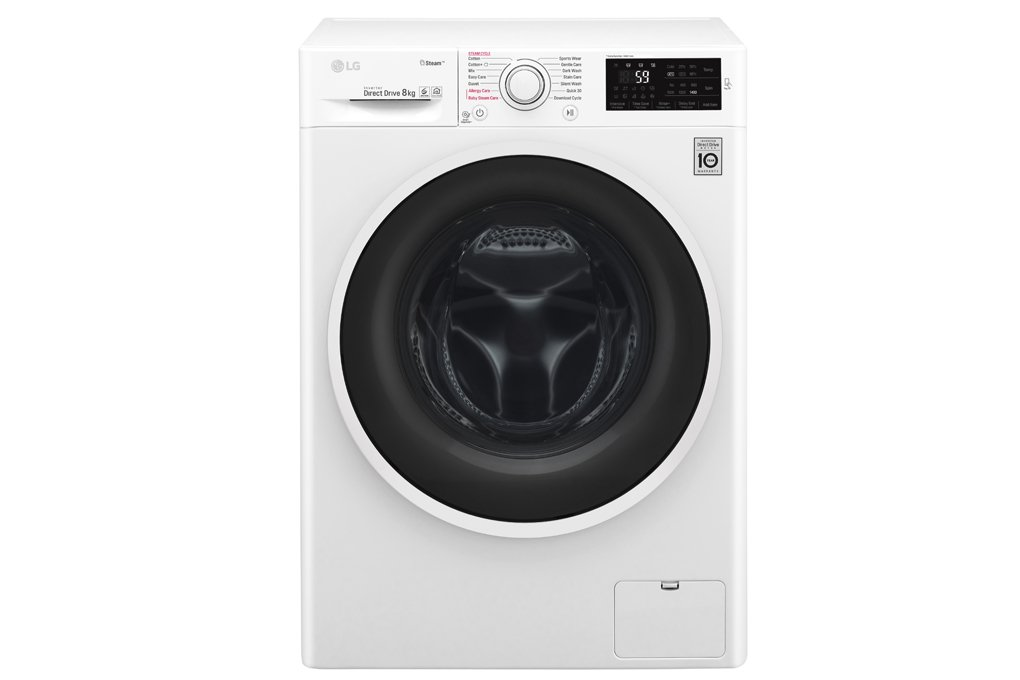 Thiết kế sang trọng tinh tế với máy giặt LG inverter 8 kg FC1408S4W2