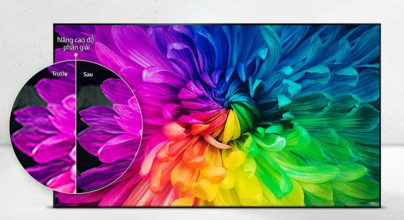 Tivi LG 43 inch 43LJ43LJ614T với độ phân giải Full HD