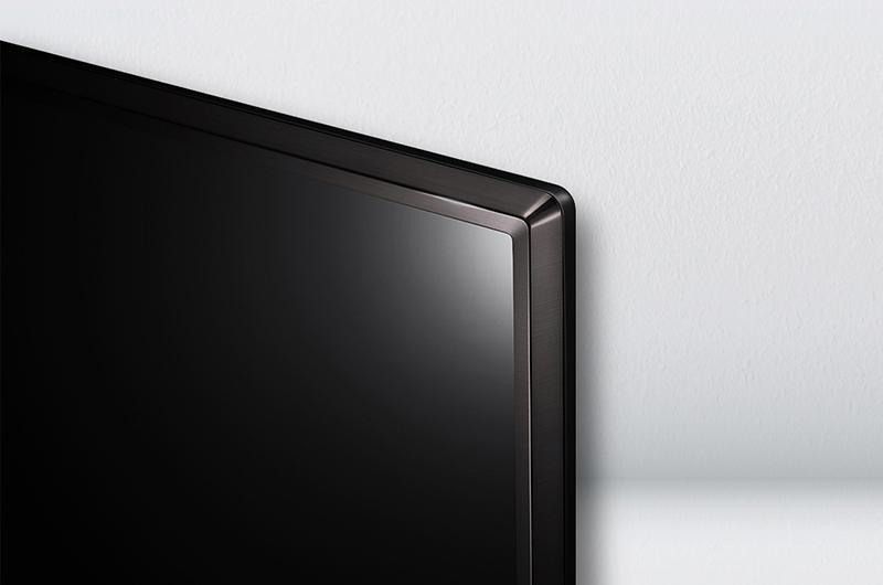 Thiết kế mượt mà, đẳng cấp của Smart tivi LG 49 inch 49LJ614T