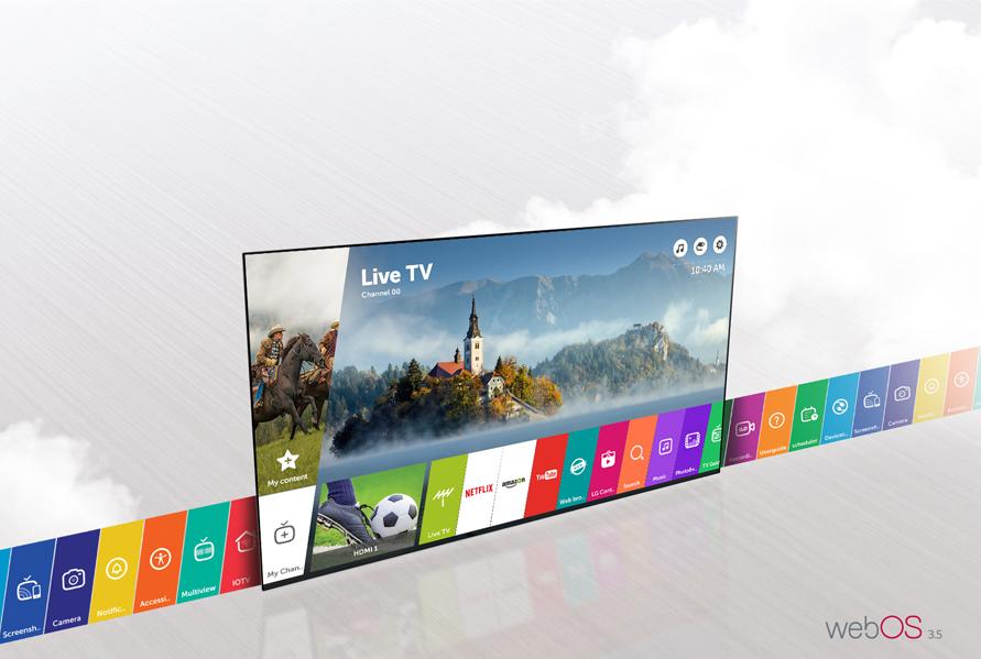 Thư giãn tuyệt vời với WebOS 3.5 trên Tivi LG 49 inch