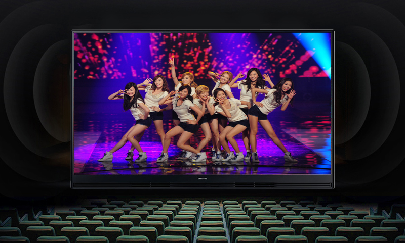 Chất lượng âm thanh bùng nổ, mạnh mẽ với tivi Samsung 32 inch