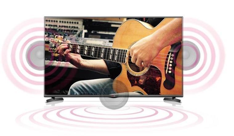 Âm thanh sống động và trung thực với LG 32 inch