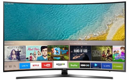 Smart tivi SamSung 43 inch 43KU6500 4K Màn hình cong