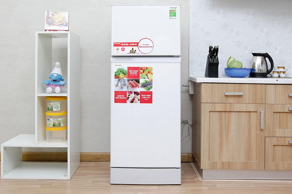 Tủ lạnh Sharp 180 lít SJ-193E - chiếc tủ lạnh đáng đồng tiền