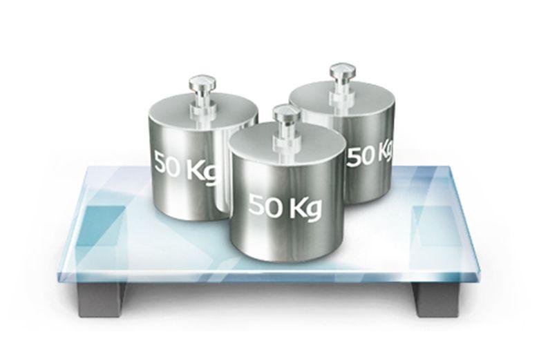 Khay kính chứa đồ đến 150kg của tủ lạnh Sharp SJ-193E 180 lít