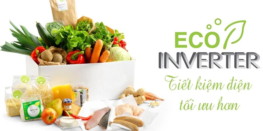 Eco Inverter tăng công suất làm lạnh lên gấp 5 lần