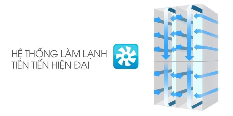 Hệ thống cấp đông, làm lạnh hiệu quả vượt trội với tủ lạnh Sharp CX903 779 lít
