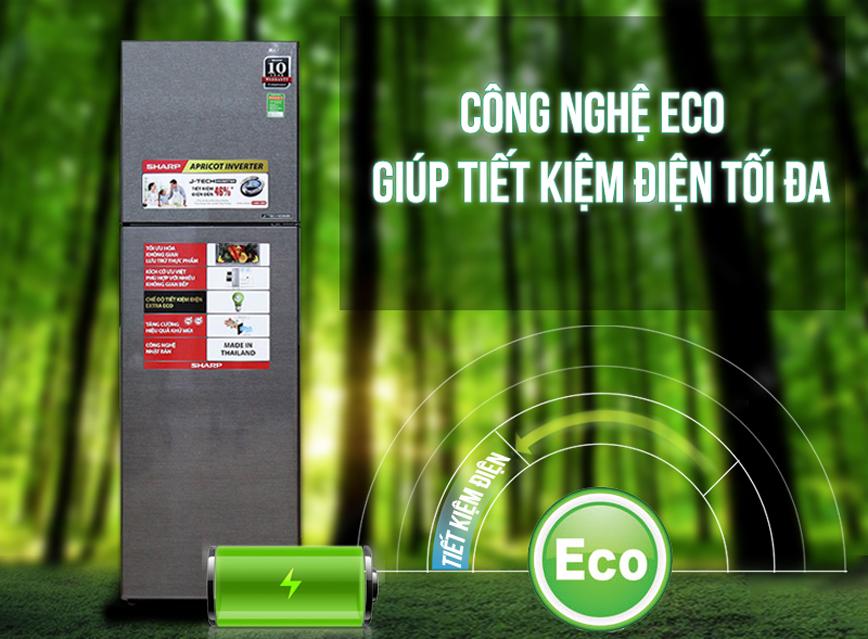 Tiết kiệm điện năng tối đa với công nghệ J-Tech Inverter