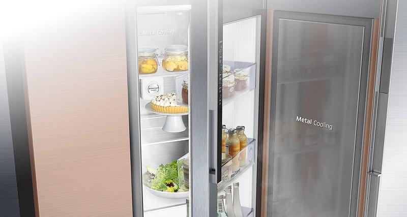 Duy trì nhiệt độ ổn định với tủ lạnh Samsung Inverter 575 lít RS58K6667SL/SV