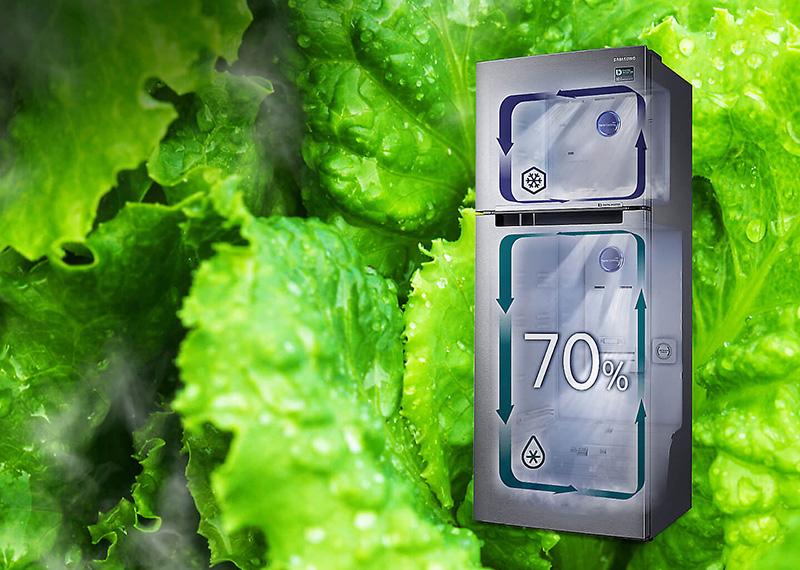 Thực phẩm được bảo quản trong môi trường lý tưởng với tủ lạnh Inverter RT32K5932S8/sv