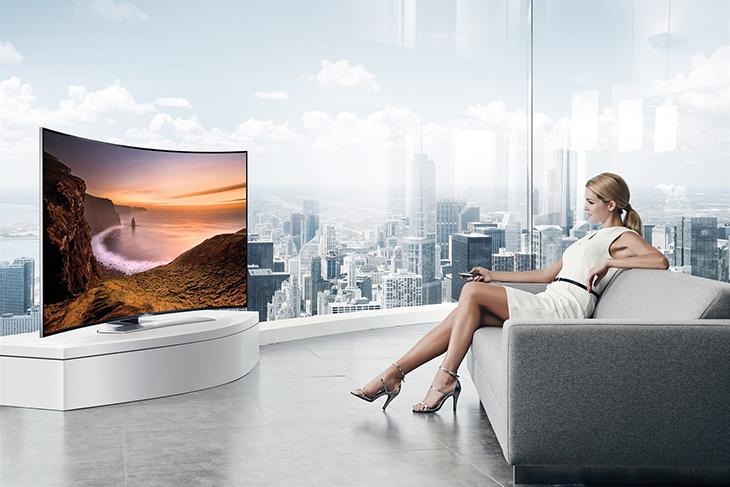 Tạo cảm giác cho người dùng một không gian rộng lớn khi xem tivi Sony 65 inch