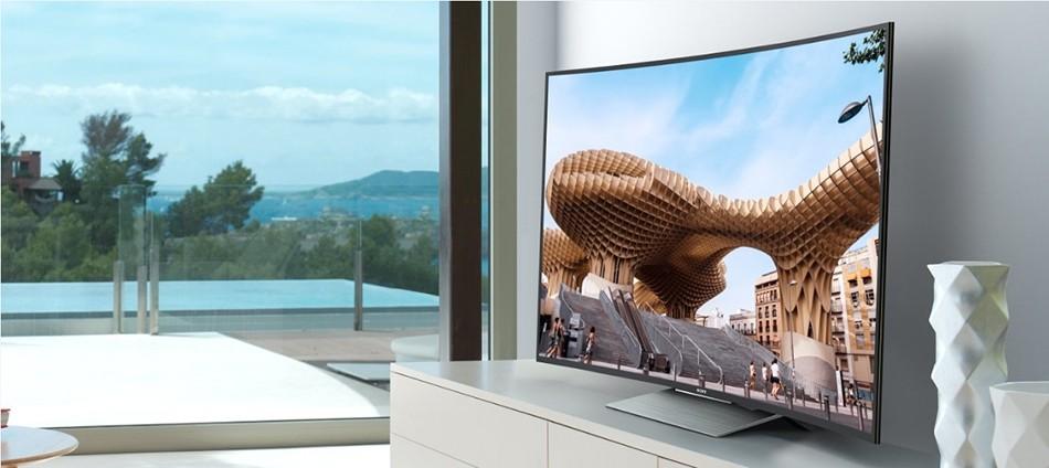 Thiết kế kiểu dáng độc đáo của tivi Sony 50 inch 50S800D