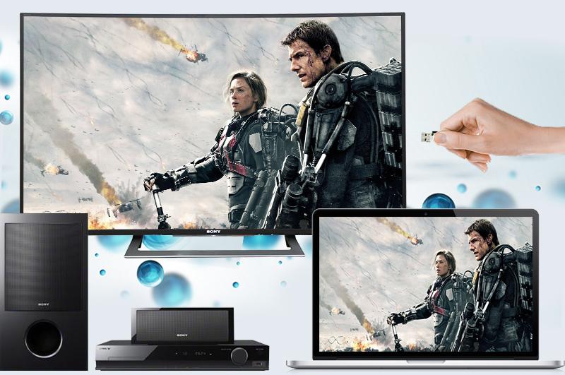 Kết nối đa dạng, nhanh chóng với các thiết bị bên ngoài với tivi Sony 50 inch