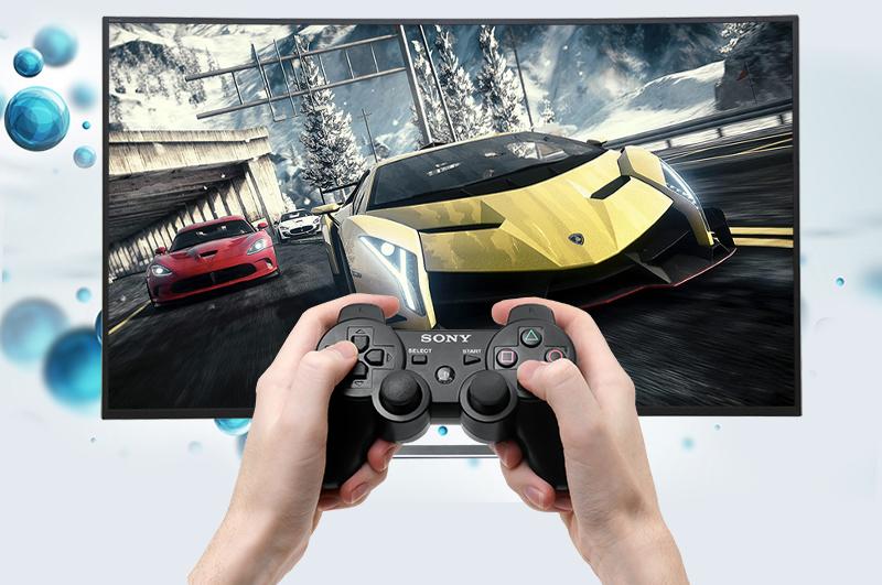 Có thể kết nối tối đa với 4 tay cầm chơi game tivi Sony 50 inch 50S800D