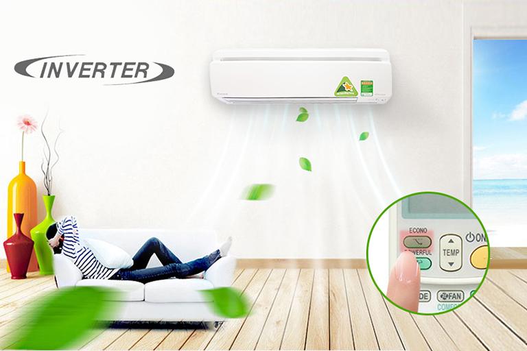 Công nghệ Inverter hiện đại, thông minh
