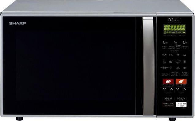 Thiết kế của lò vi sóng 26 lít Sharp R-C900VN