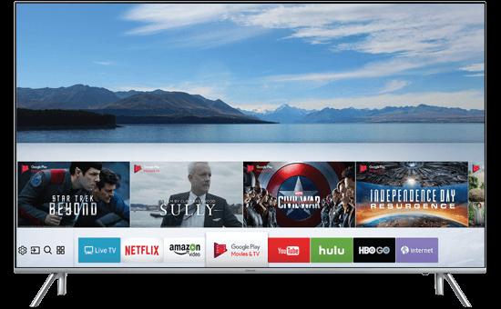 Hình ảnh của smart tivi Samsung UA75MU6100
