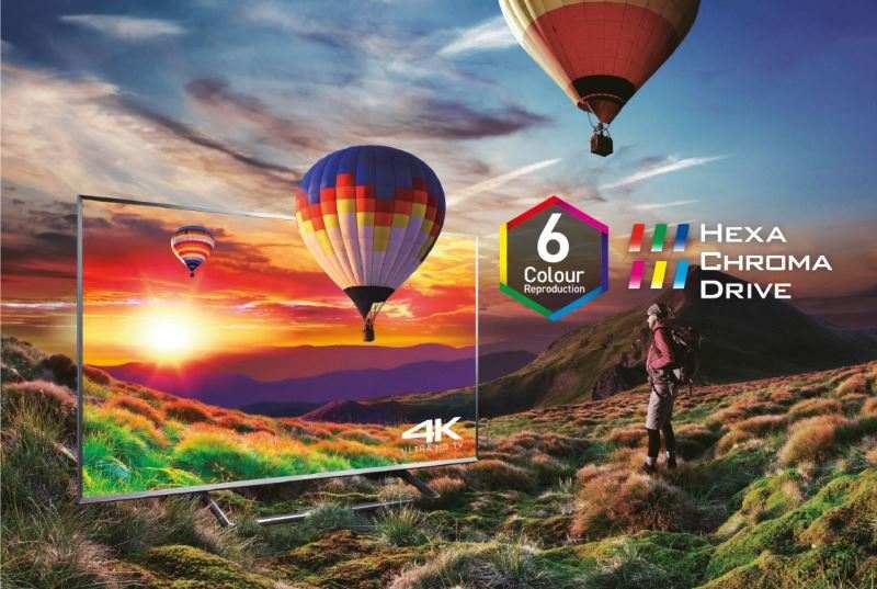 Trải nghiệm hình ảnh sống động không khác đời thực của chiếc Tivi Panasonic 4k