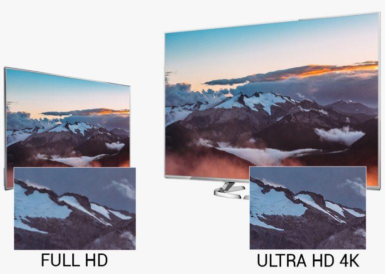 Hình ảnh chân thực và sống động khi xem trên những chiếc Tivi Panasonic 4k Ultra