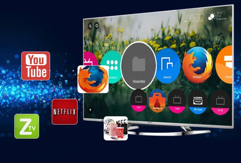 Kho ứng dụng có trong tivi panasonic 4K TH-58DX700V phong phú, đa dạng