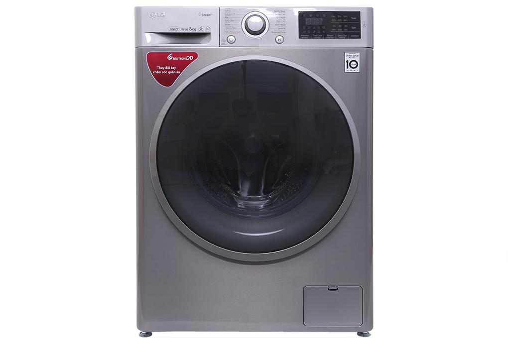 Có máy giặt LG Inverter 8 kg FC1408S3E - việc giặt giũ trở nên dễ dàng hơn