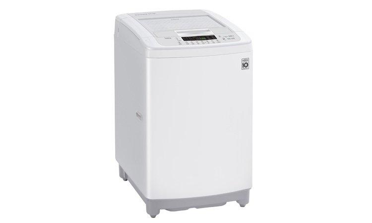 Hình thức đơn giản, tinh tế với máy giặt LG T2385VSPW