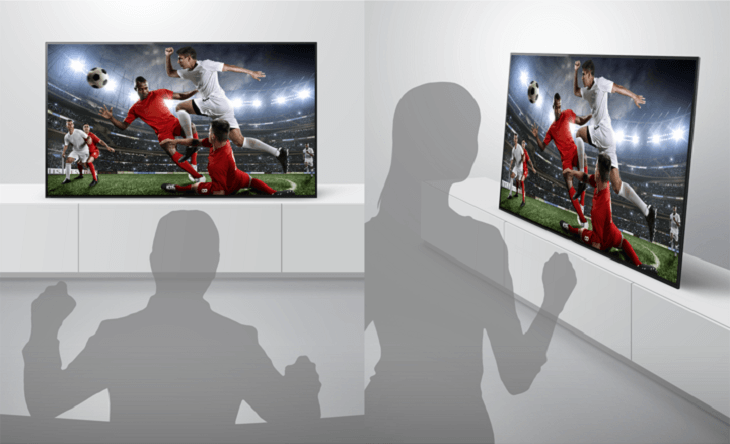 Tivi Sony công nghệ màn hình OLED có thiết kế mỏng, tinh tế, hiện đại