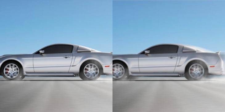 Công nghệ màn hình OLED sở hữu những cảnh quay nhanh cũng rất mượt mà