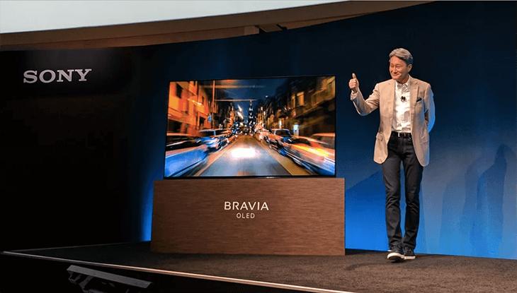 Tivi sony Bravia công nghệ màn hình OLED được ra mắt tại CES 2017