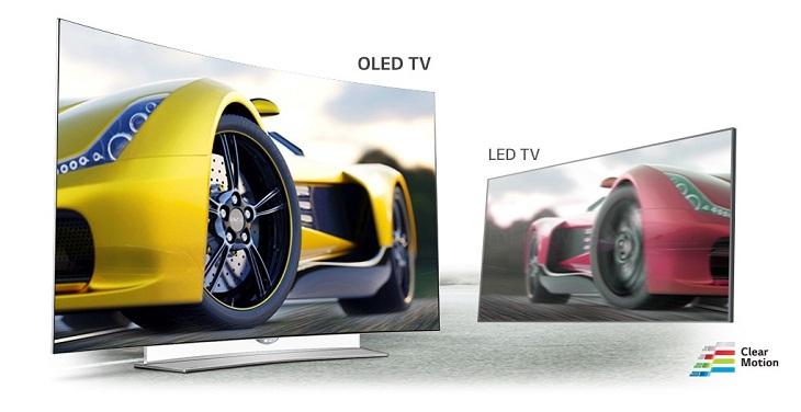 Tivi công nghệ màn hình OLED có hình ảnh chuyển động mượt mà