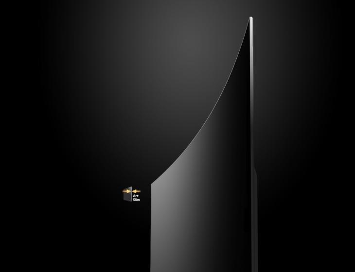 Tivi công nghệ màn hình OLED có thiết kế mỏng, sang trọng bắt kịp xu thế thời đại mới