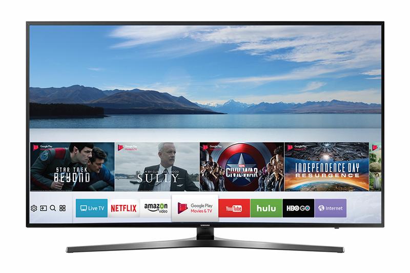 Smart tivi Samsung sở hữu thiết kế sang trong tinh tế