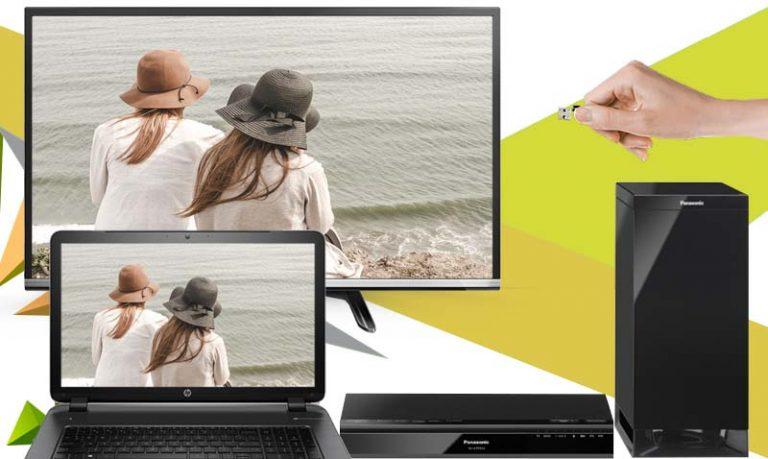 Tivi Panasonic 32 inch TH-32DS500V hỗ trợ nhiều cổng kết nối phong phú