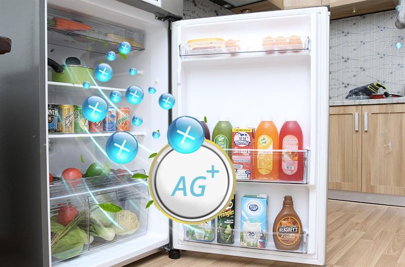 Công nghệ Ag Clean làm sạch không khí với tủ lạnh NR-BL268PSVN