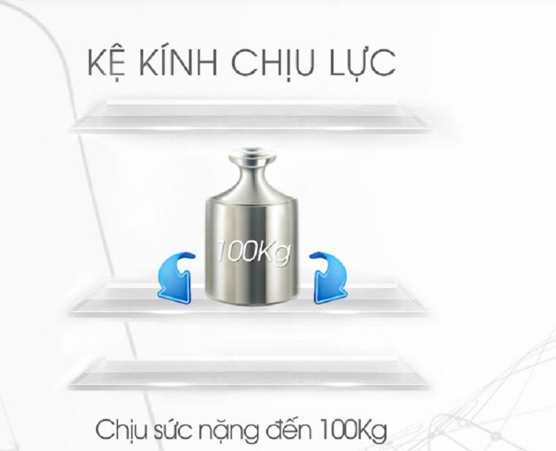 Khay kệ linh hoạt, tiện dụng với tủ lạnh Sharp inverter SJ-F5X76VM-SL