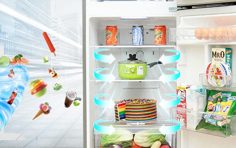 Công nghệ làm lạnh đa chiều giúp bảo quản đồ ăn tốt hơn