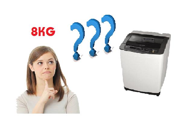 Khối lượng giặt bao nhiêu thì phù hợp với gia đình bạn?