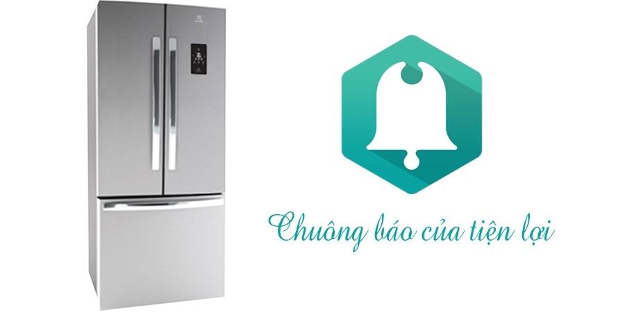 Hệ thống chuông báo thông minh của tủ lạnh Electrolux EHE5220AA
