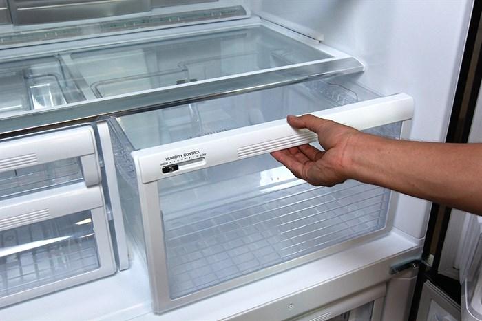 Thiết kế thông minh của ngăn đựng hoa quả của tủ lạnh