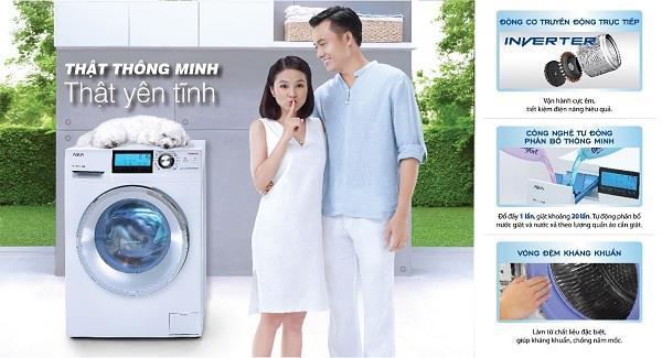 Người dùng có thể loại bỏ cảm giác khó chịu khi máy giặt rung, kêu