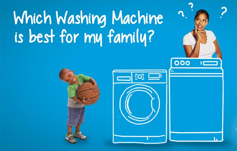 Nên chọn mua máy giặt bao nhiêu kg là hợp lý nhất