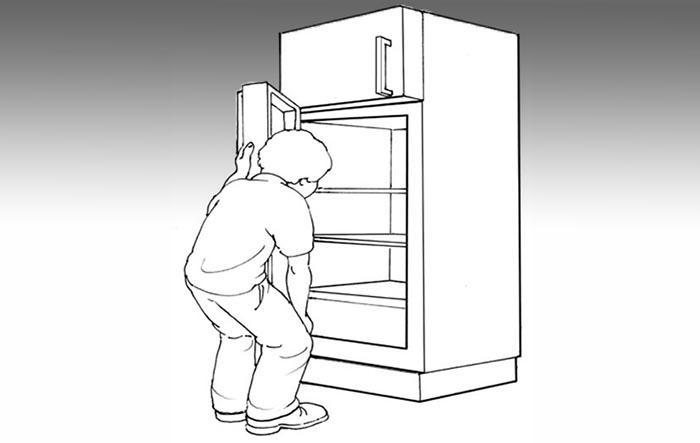 Nhược điểm của dòng tủ lạnh ngăn đá trên