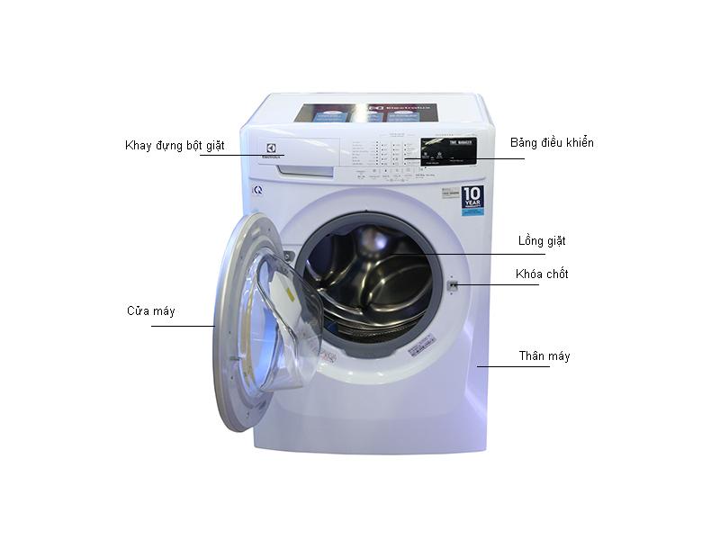 Thông số kỹ thuật của máy giặt 8 kg Electrolux EWF10844
