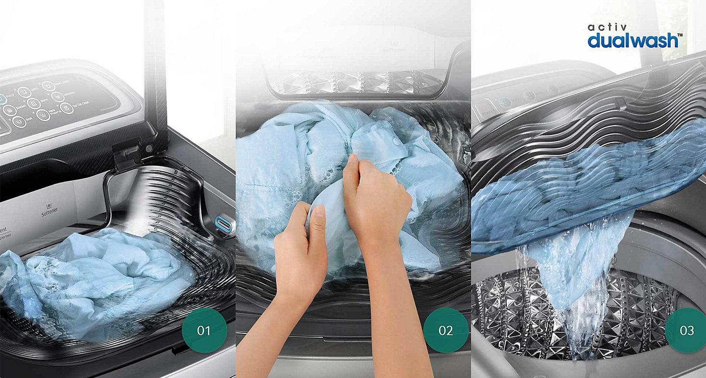 Quần áo luôn được giặt sạch tối đa