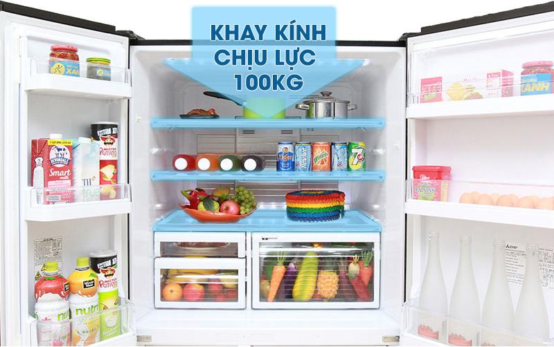 Đặc điểm thiết kế của khay kệ trong tủ lạnh